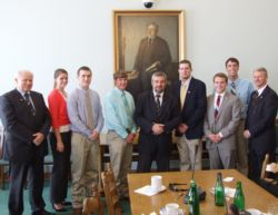 delegacja z USA wraz z posłem Ardanowskim