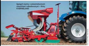 Agregaty uprawowo-siewne w technologii tradycyjnej